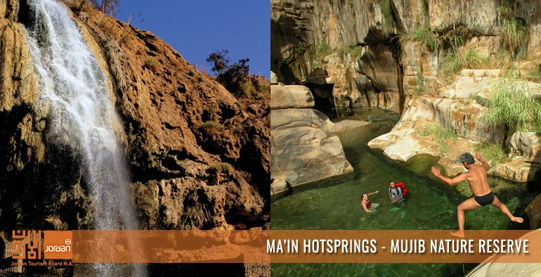 Ma'in Hotspring - Mujib Nature Reserve