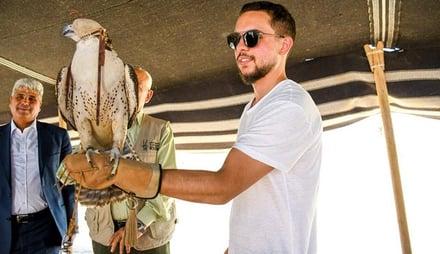 Crown Prince opens Shomari Wildlife Reserve in Azraq.jpg