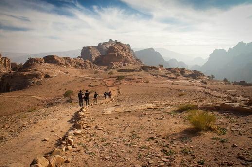 Petra-Hiking