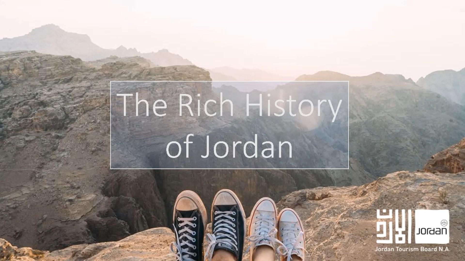 Rich history of Jordan