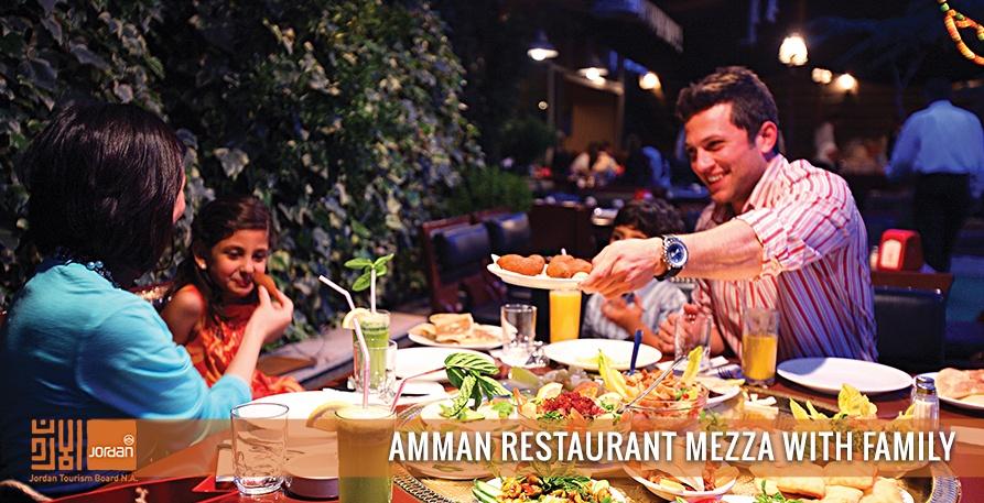Amman-Restaurant-Mezza-with-family