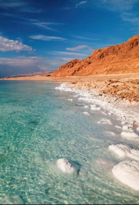 Portrait Image of Dead Sea