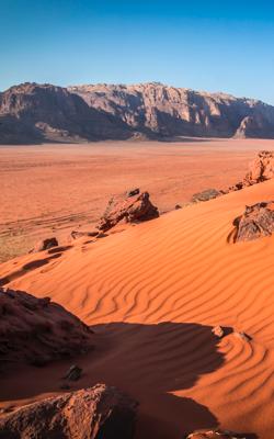 Portrait Image of Wadi Rum